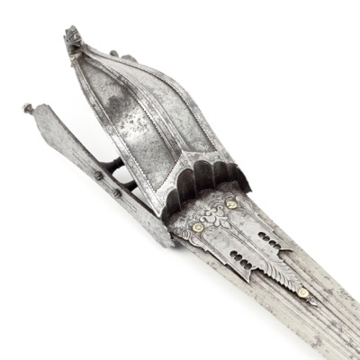 A katar from the Vijayanagara empire.