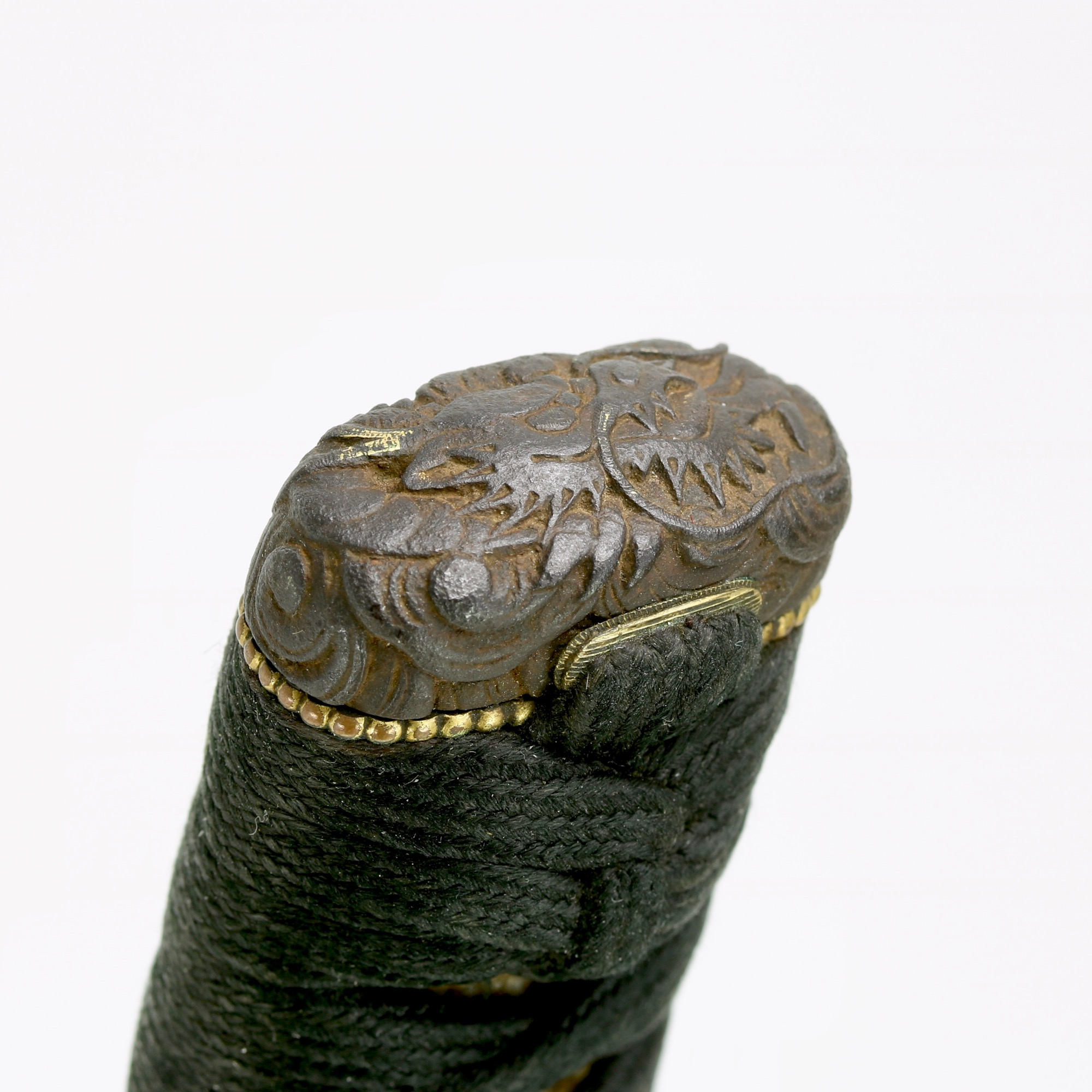 A Japanese set of sword fittings, koshirae, in nanban style