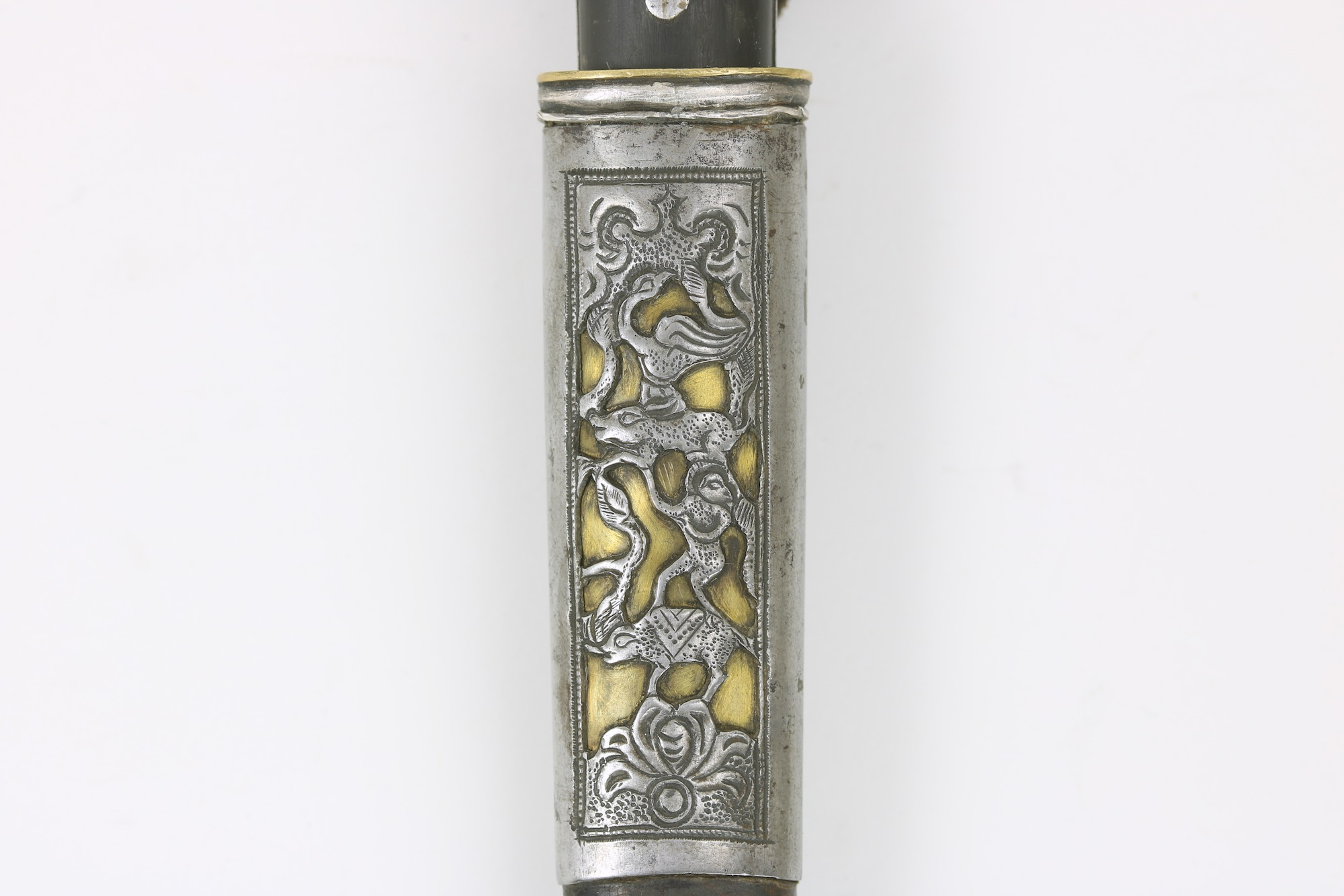 An antique Mongolian knife
