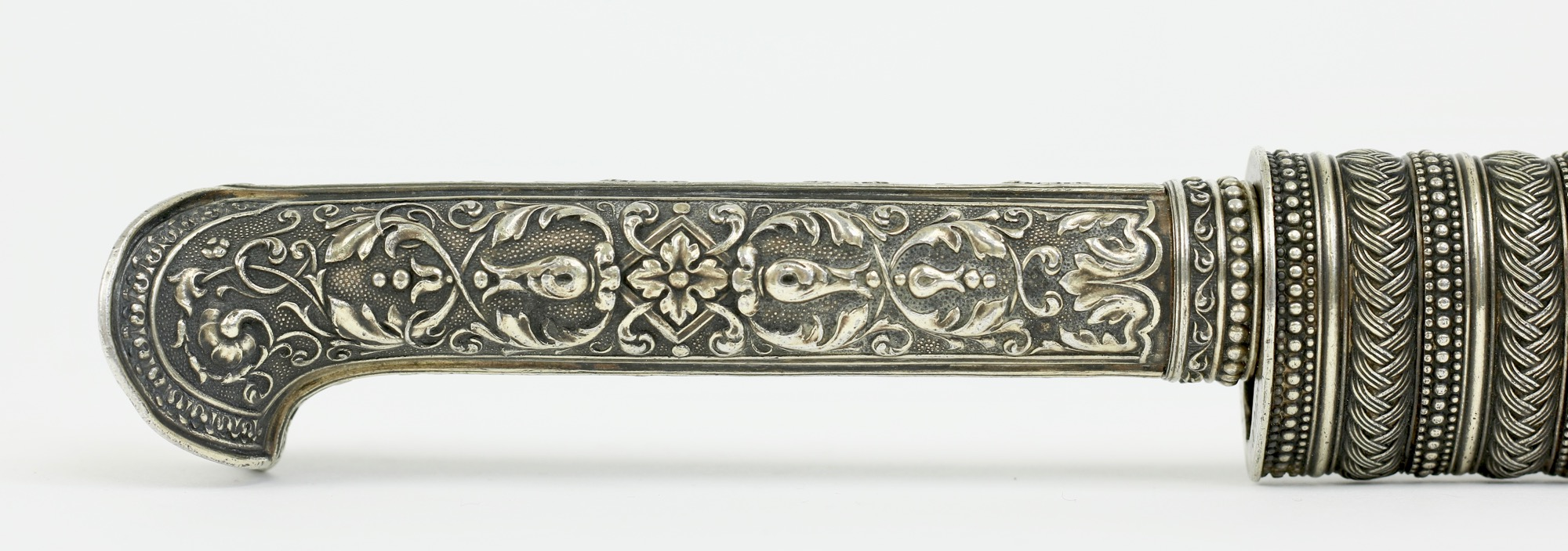 An Ottoman style knife made by Manceaux of Paris