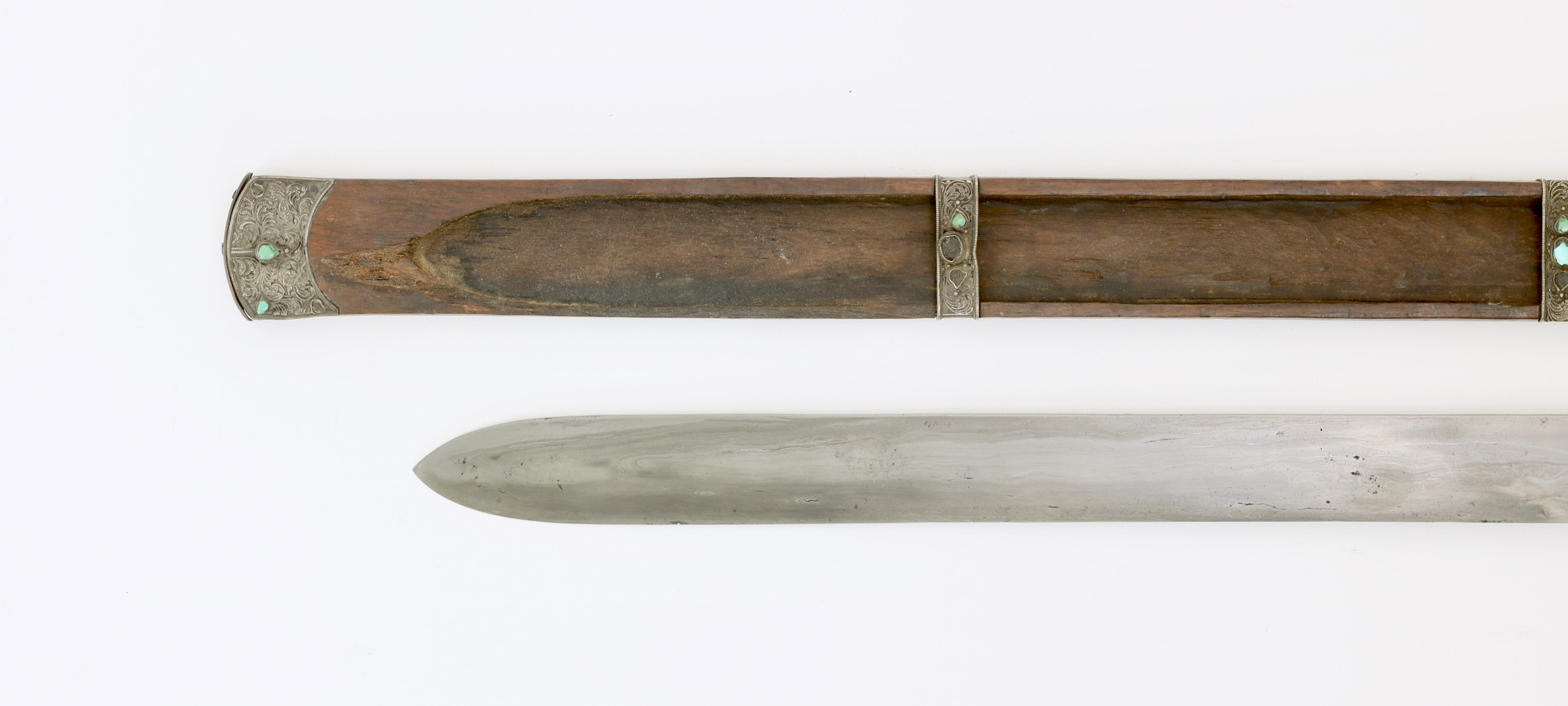 Antique sword from the Himalayan Kingdom of Sikkim.