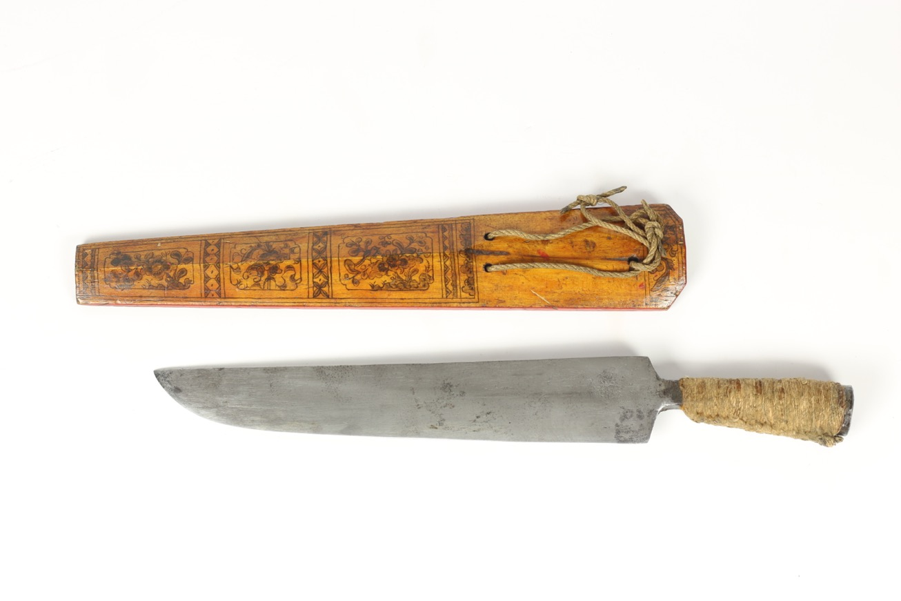 A knife of the Pingpu culture, Taiwan