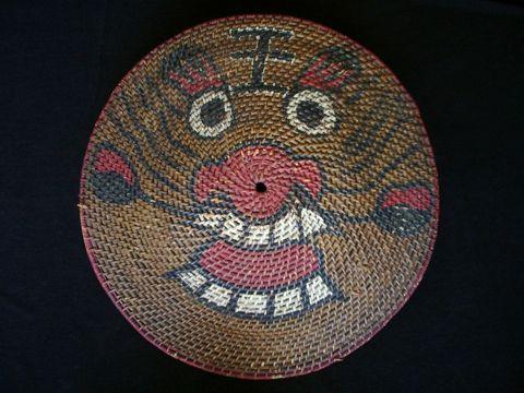 Making a Chinese rattan shield | Mandarin Mansion