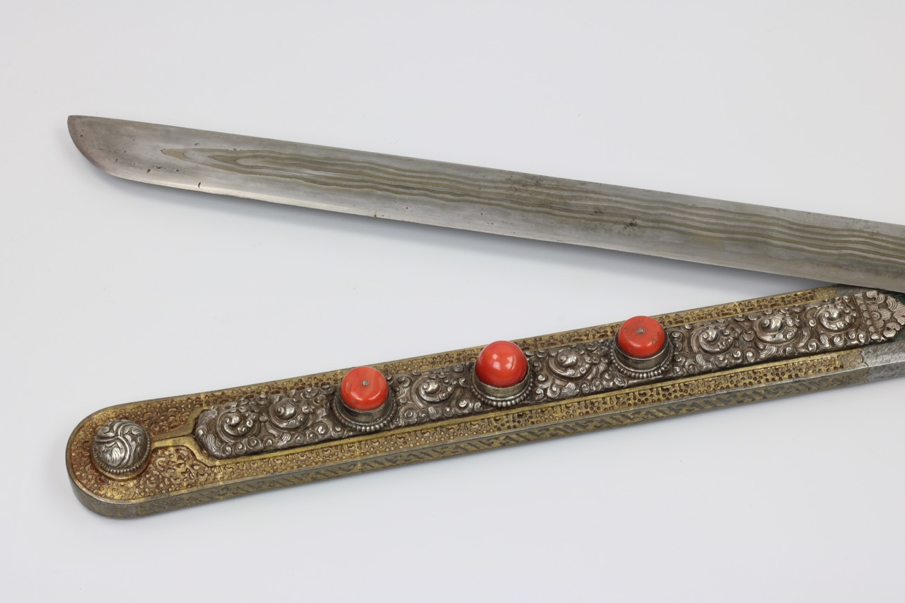 An outstanding Tibetan sword
