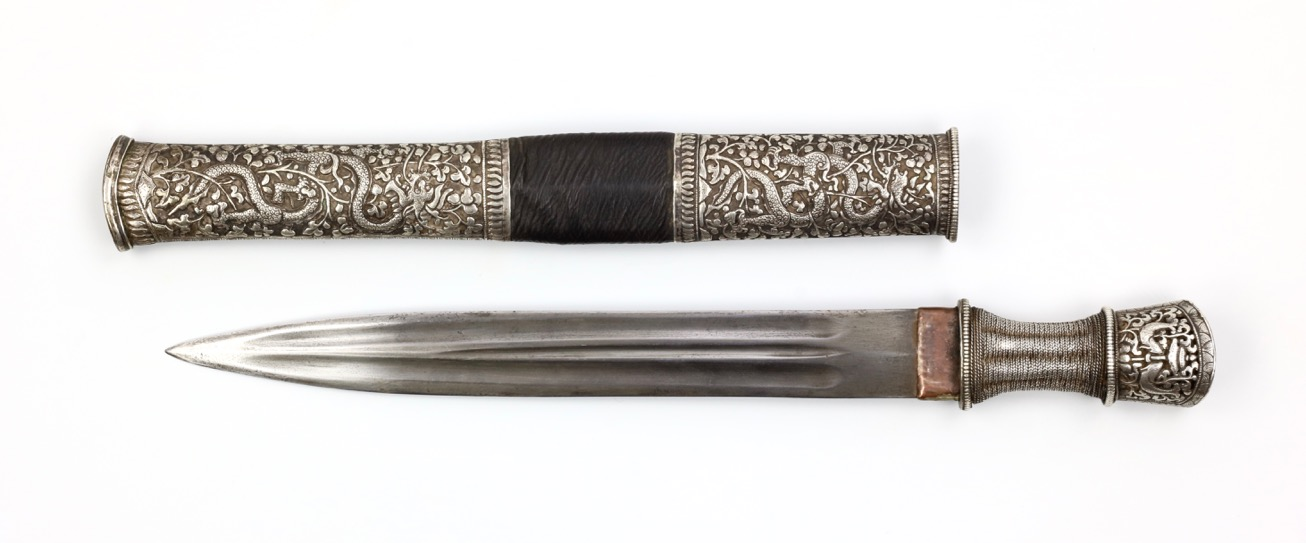 Double edged Bhutanese dagger