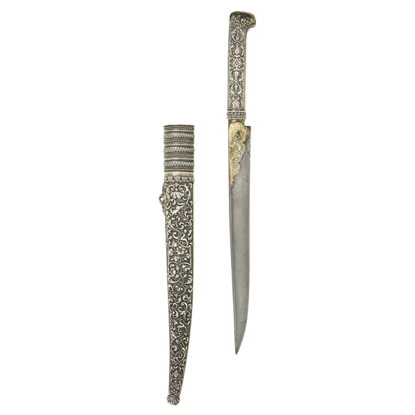 Ottoman knife by Manceaux, Paris