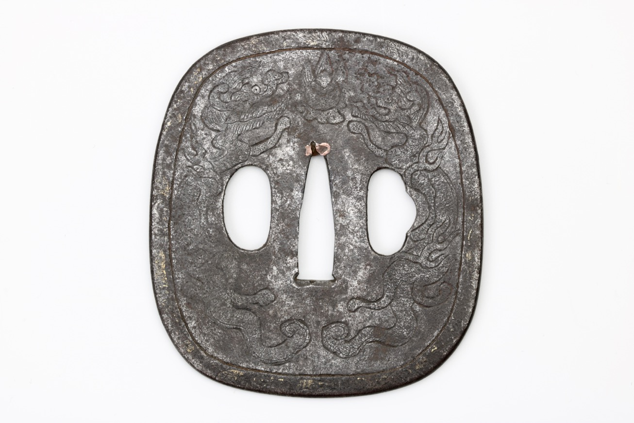 Chinese sword guard