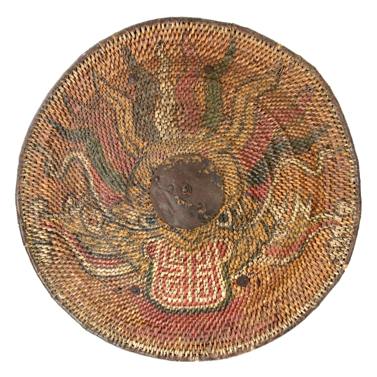 Vietnamese rattan shield