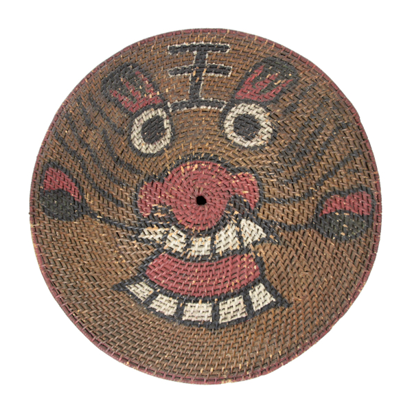 Chinese rattan shield logo