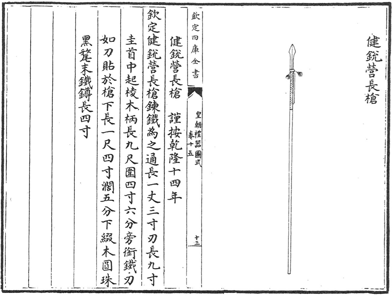 Jianruiying long spear