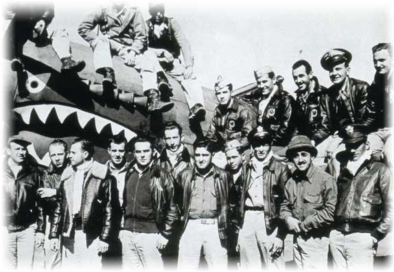 Personnel of the Flying Tigers in World War 2