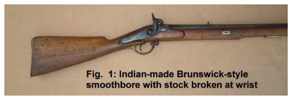 Indian made Brunswick smoothbore