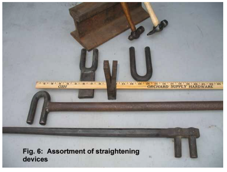 Various straightening tools