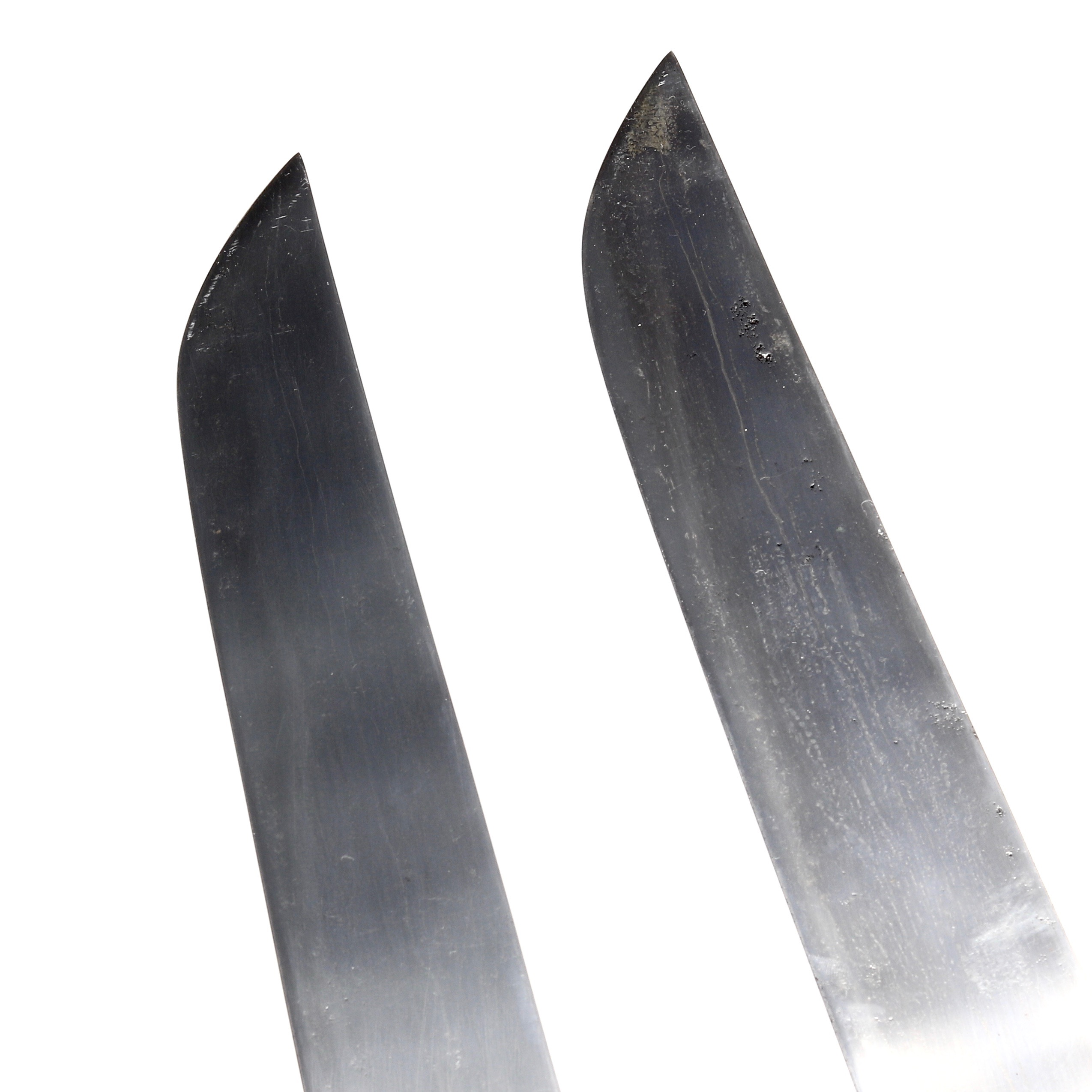 Heat treatment of hudiedao blades