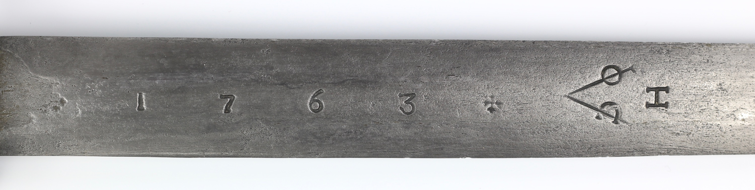 Hoorn chapter VOC 1763 markings