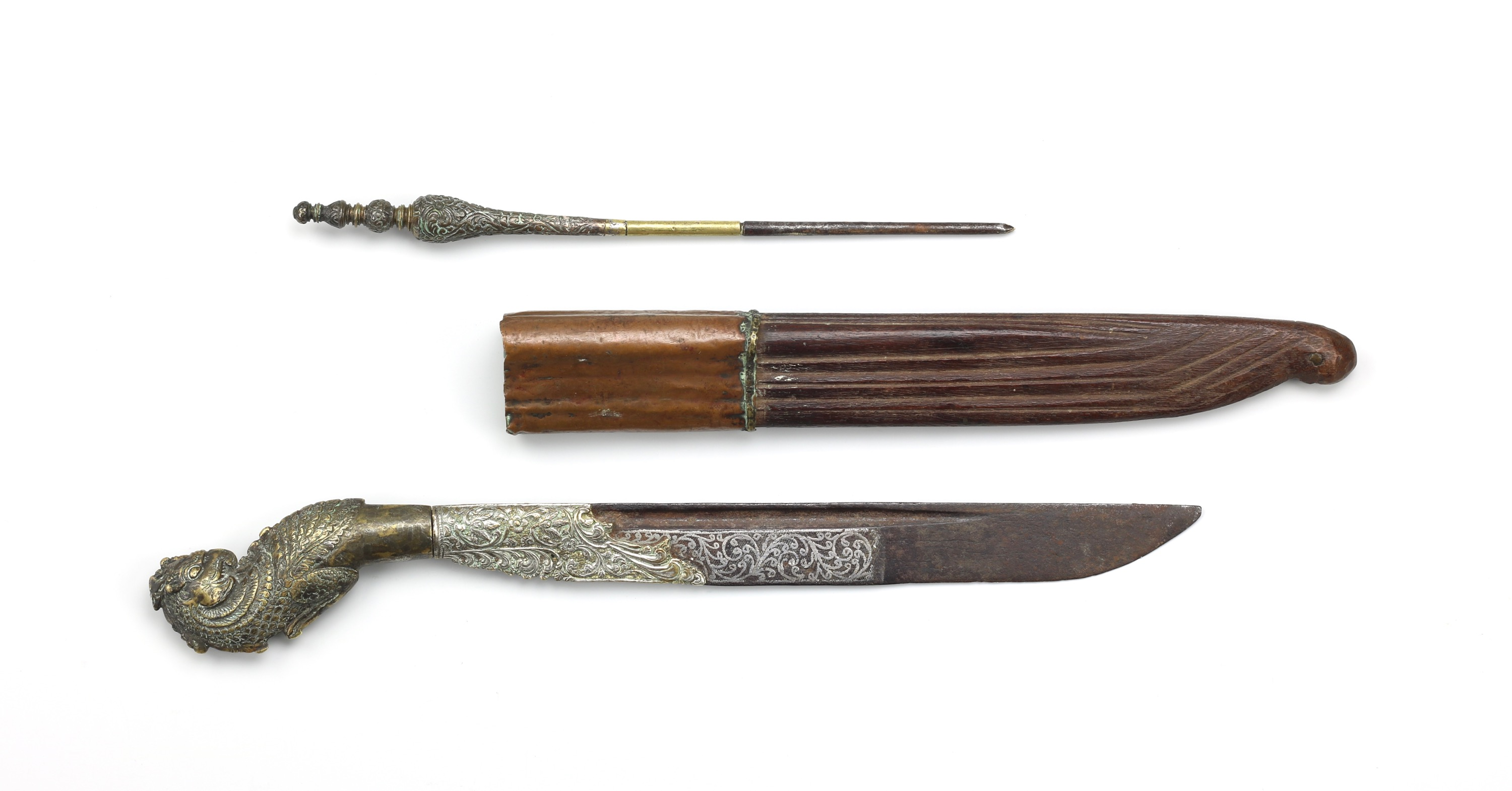 Sinhalese knife with stylus