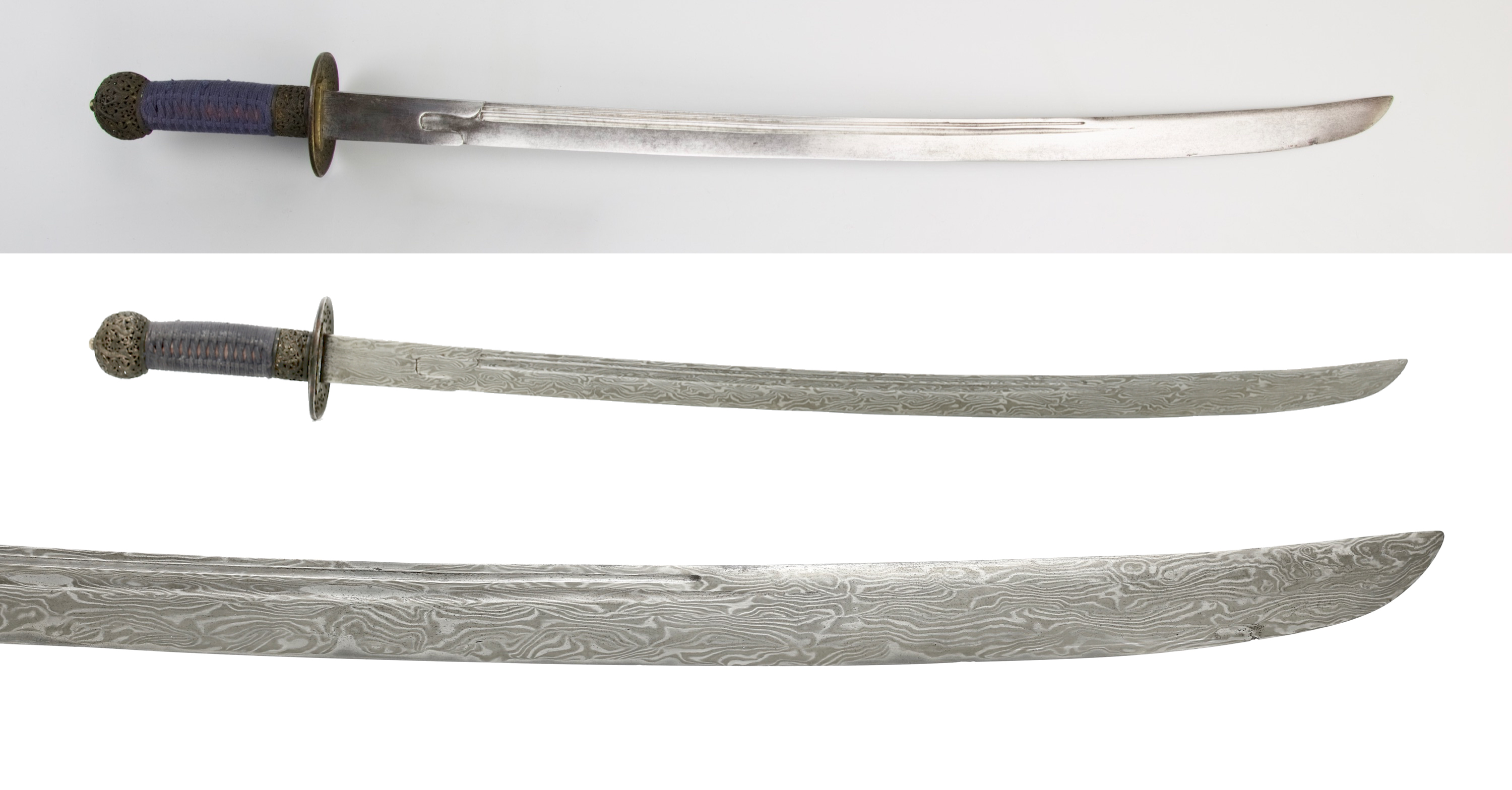 Polish on an 18th century Chinese saber