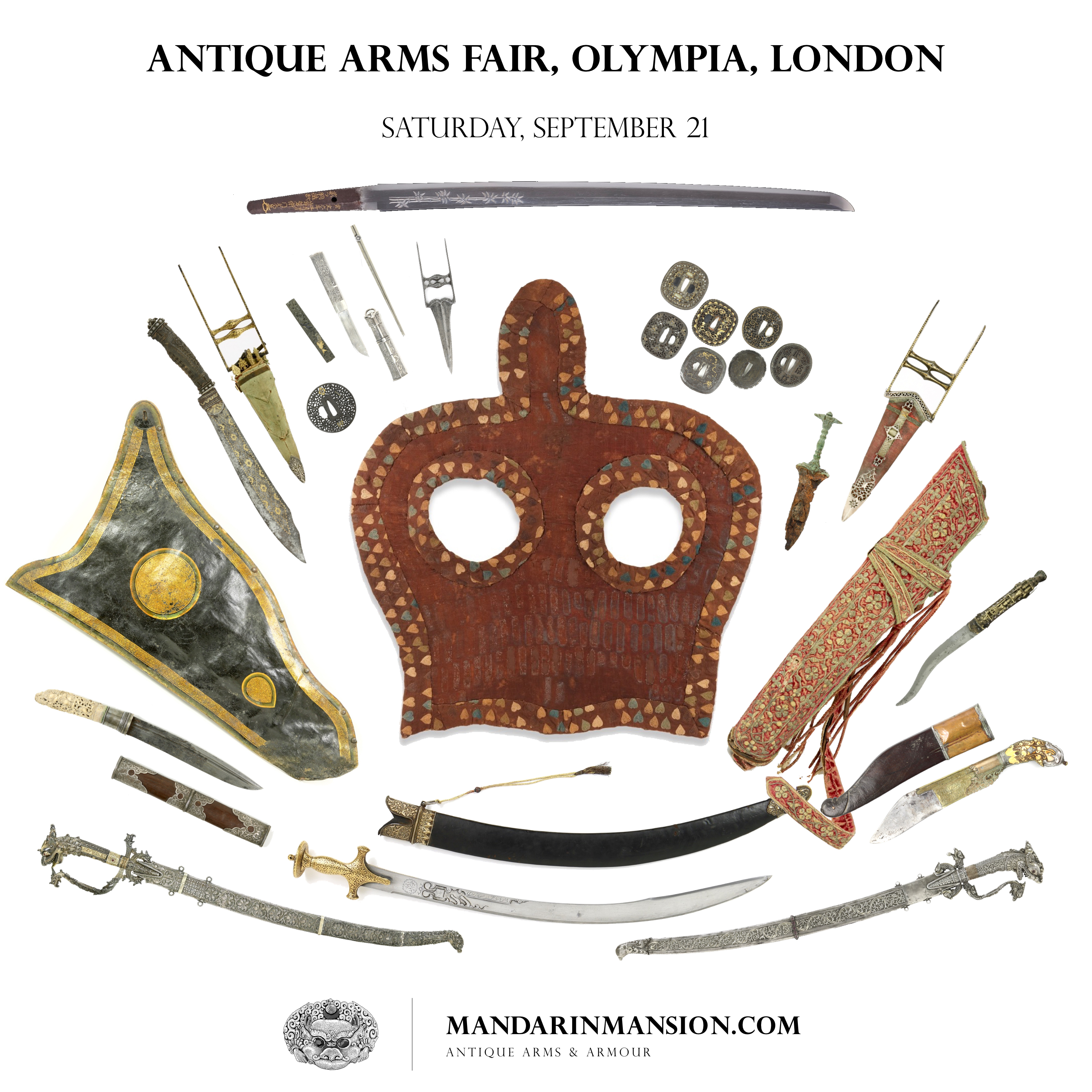 Olympia Arms Fair promotion