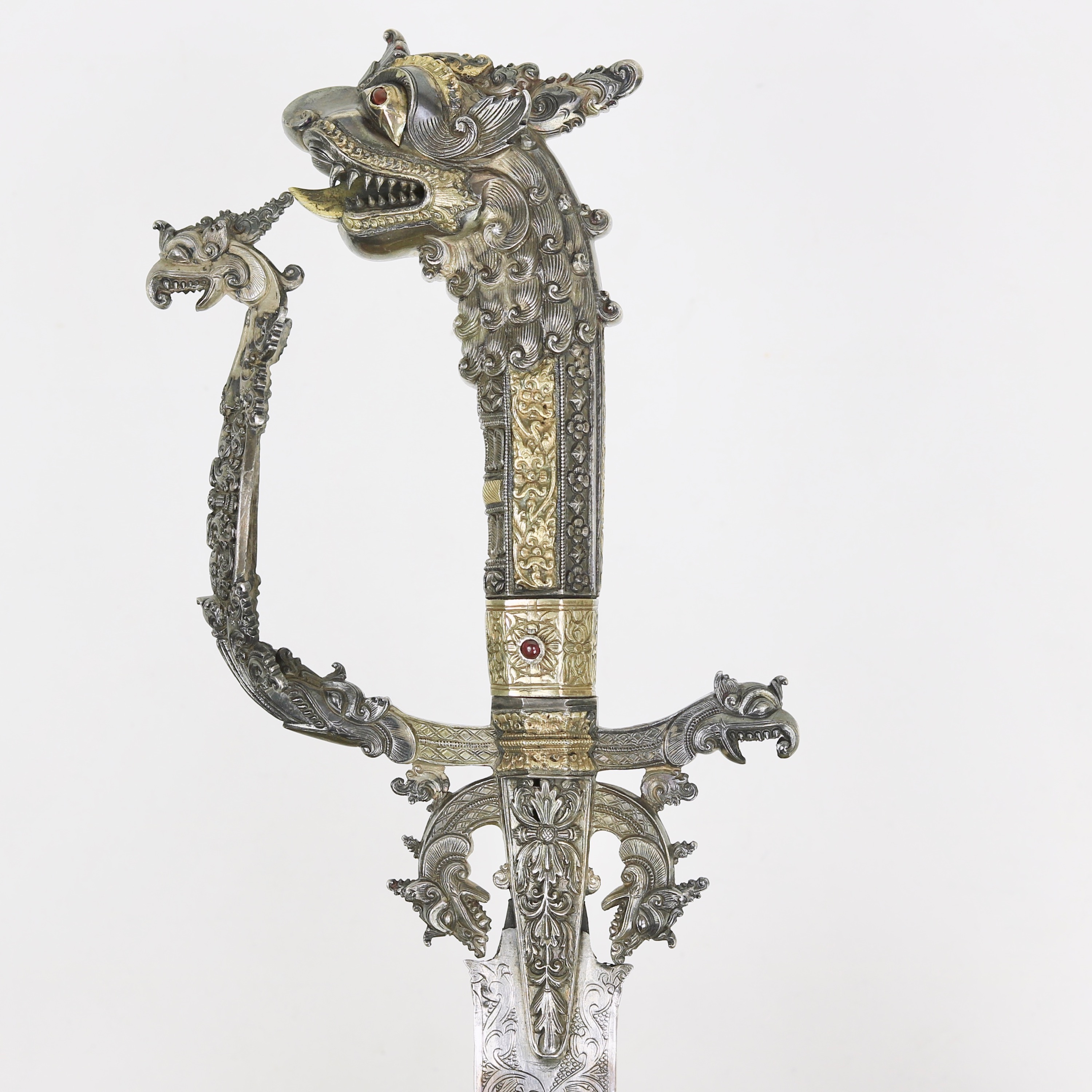 Quillons on Sinhalese sword