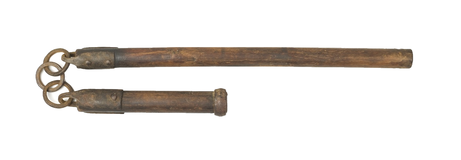 Antique Chinese war flail