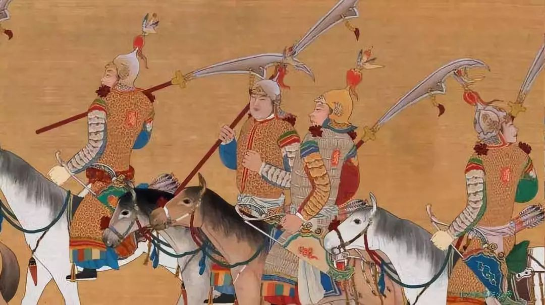 Ming soldiers with yanyuedao