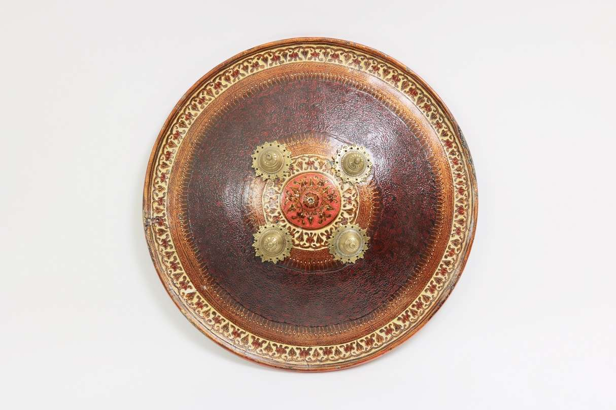 Indian dhal shield by Bhagvan Khoosal