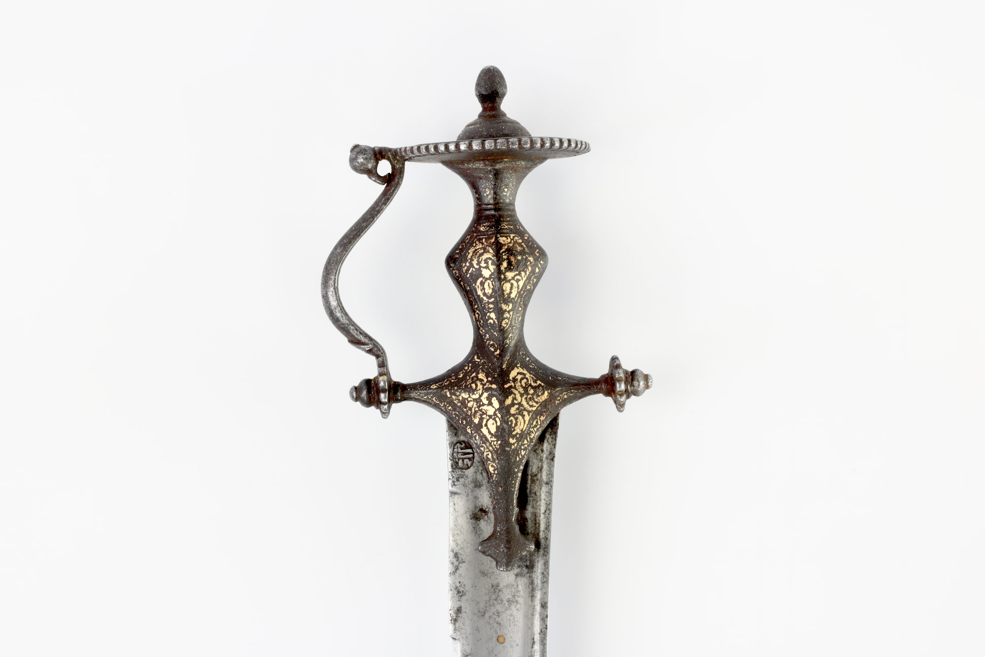 Talwar with southern style hilt