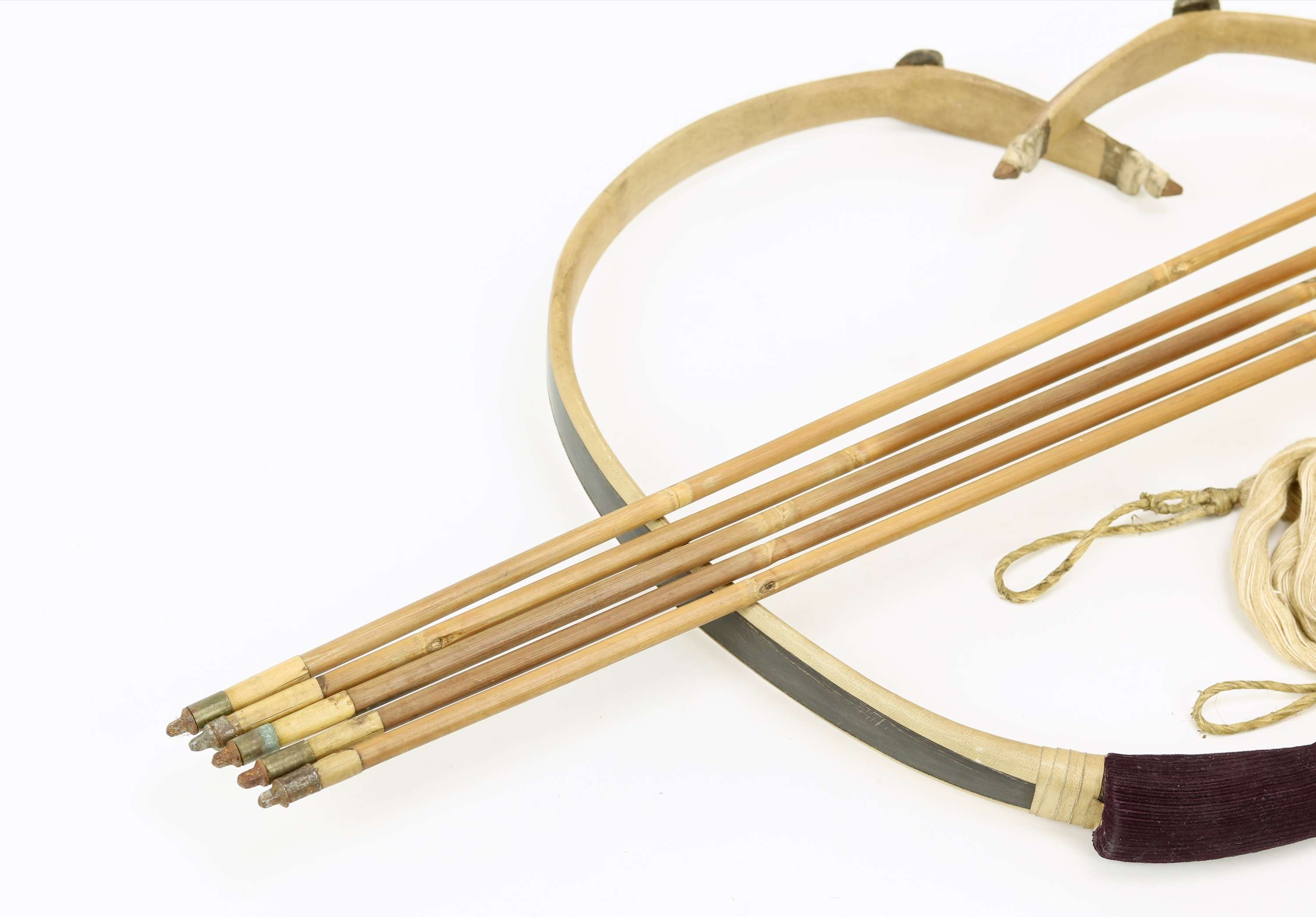Vintage Korean Archery Set Mandarin Mansion