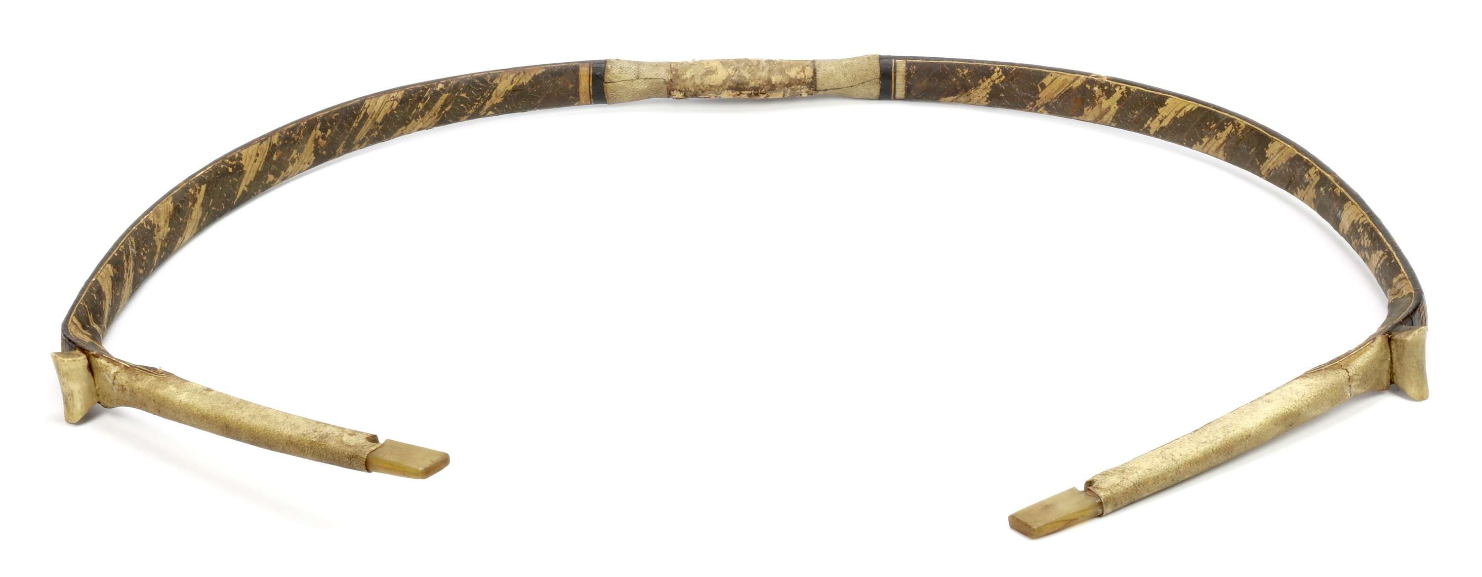 Manchu horn bow with red bellies