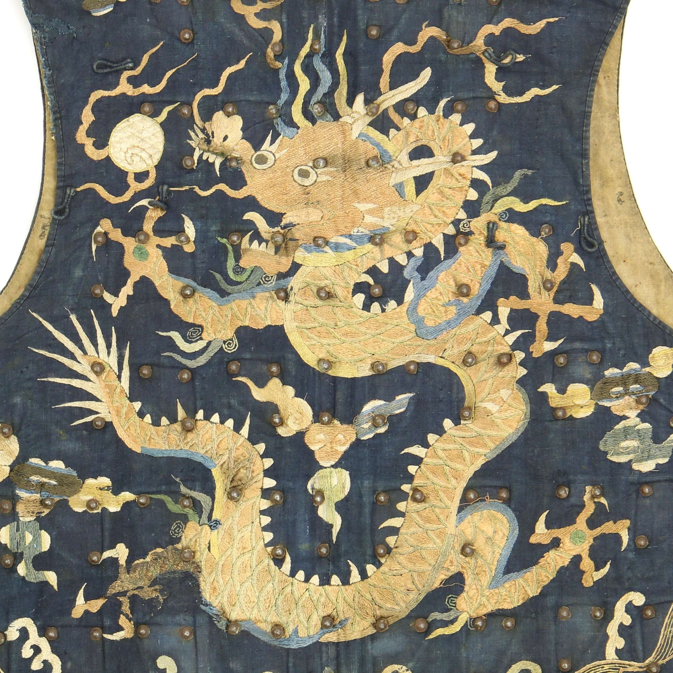 An early armored dingjia vest of the Ming-Qing transition period