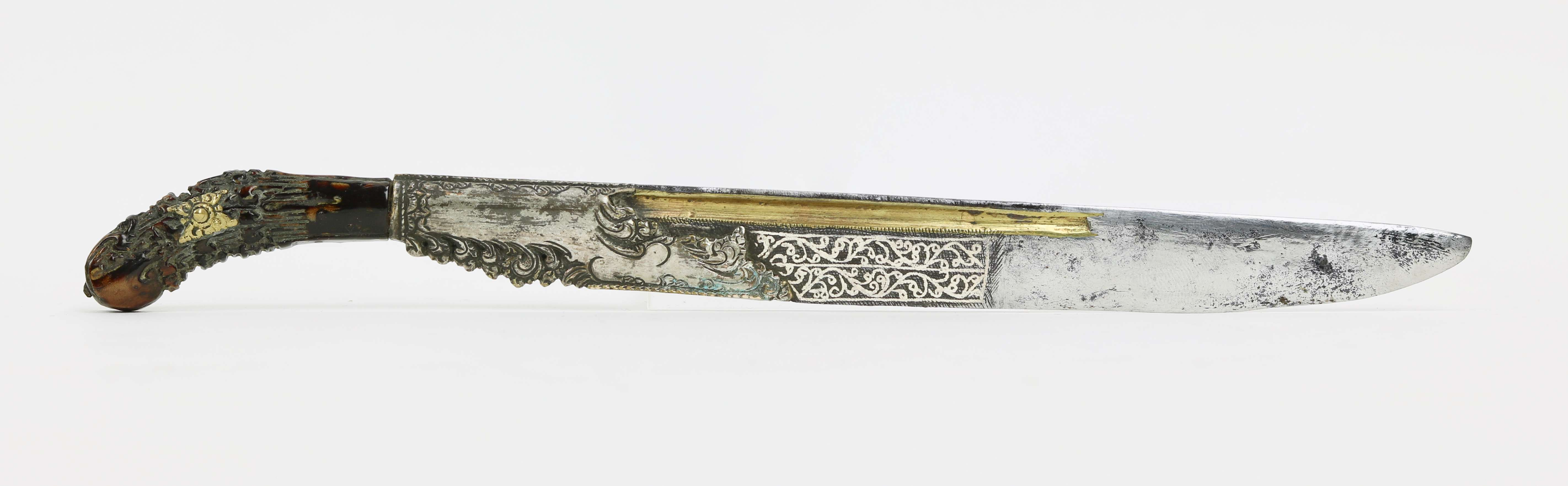 Sinhalese knife and writing stylus