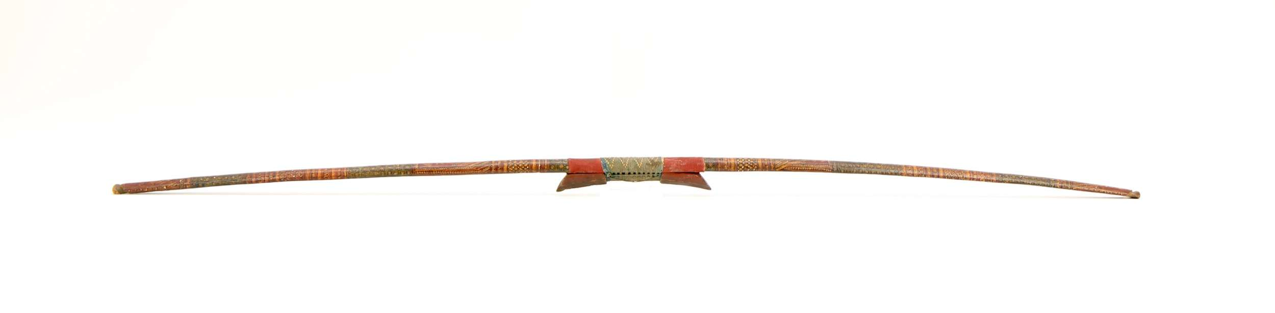 Sinew backed bow from Kashmir