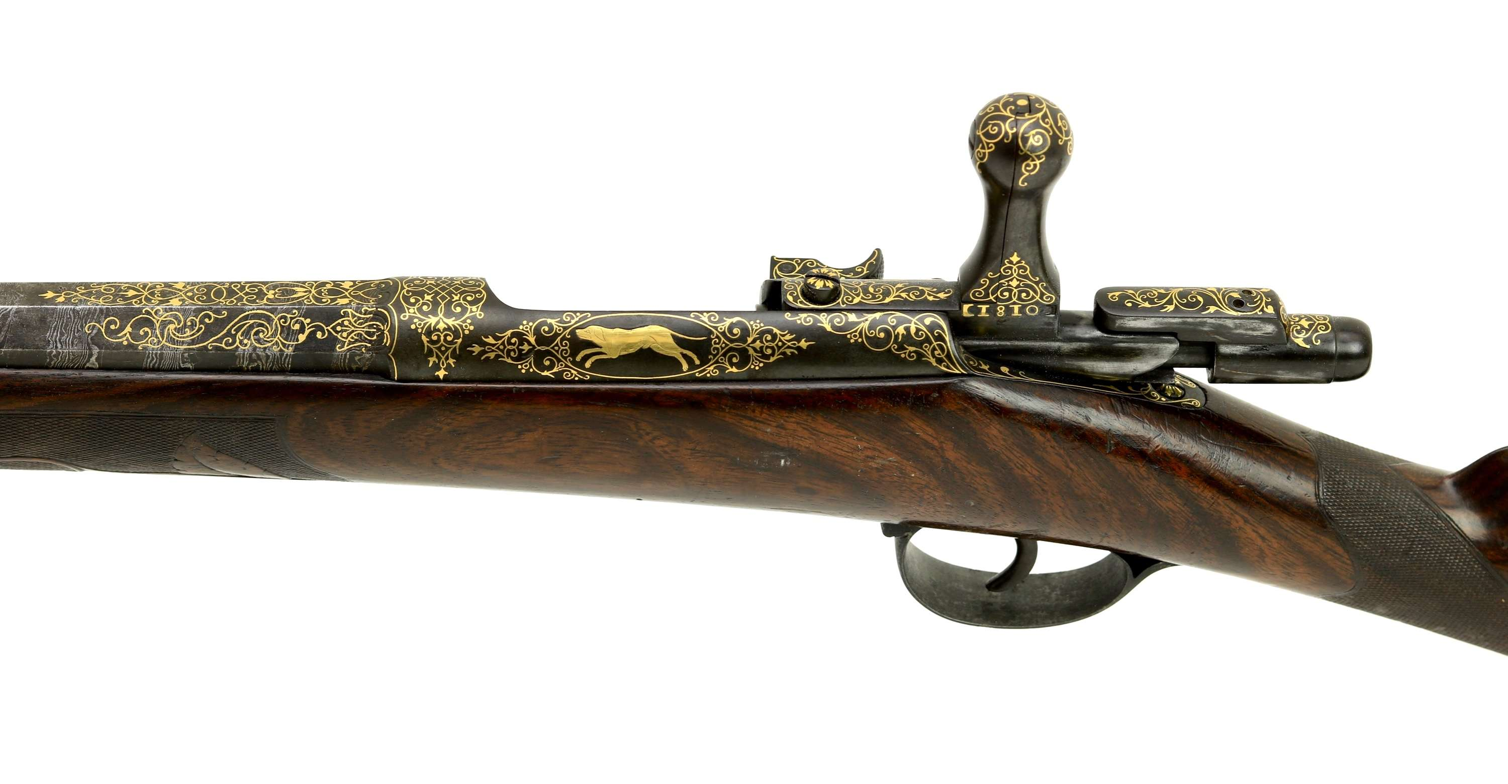 Dutch colonial sporting gun, made in Indonesia and based on Beaumont technology