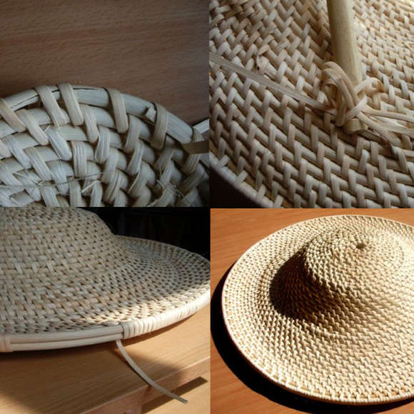 Making the Chinese rattan shield logo