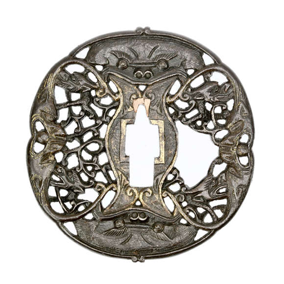 Asian export sword guard