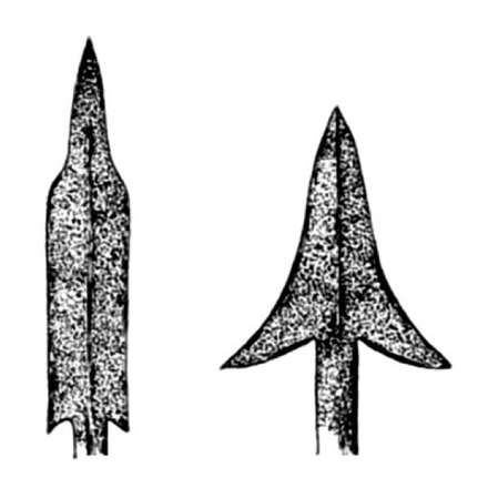 Bedor or pana arrow