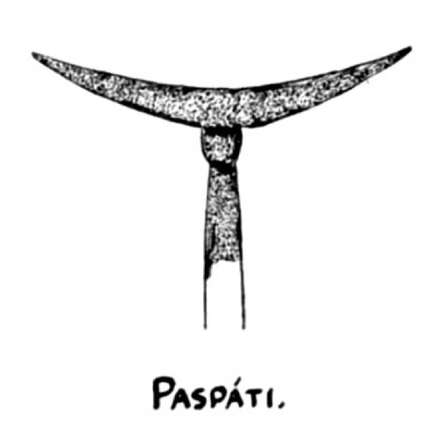 Paspati javanese arrow